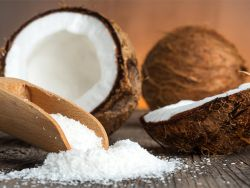 Backen mit Kokosmehl, Kokosmilch und Co