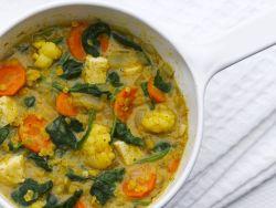 Mais-Gemüse-Topf mit Tofu
