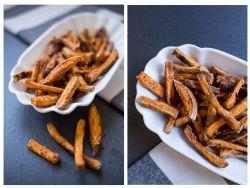 So werden Süßkartoffel-Pommes knusprig
