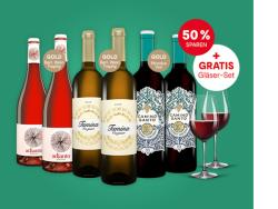 Wein & Vinos Veggiepaket