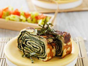 Algen-Omelette Rezept