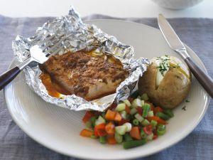 Alufolien-Fisch mit Cajun-Gewürz Rezept