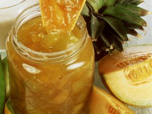 Ananaskonfitüre mit Melone Rezept