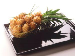 Ananas-Käse-Krapfen Rezept