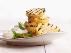 Ananas vom Grill Rezept