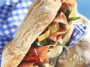 Antipasti-Sandwich Rezept
