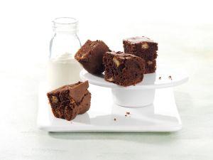 Apfel-Brownies mit Vanilleschmand Rezept