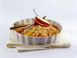 Apfel-Crumble Rezept