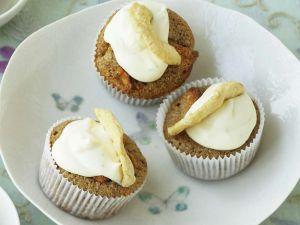 Apfel-Cupcakes mit Calavdos Rezept