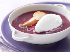 Apfel-Holunder-Suppe Rezept