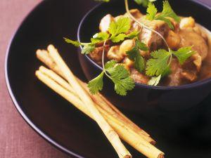 Apfel-Lamm-Topf mit Kichererbsen und Zimt Rezept