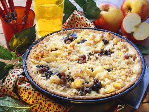 Apfel-Mohn-Kuchen mit Streuseln Rezept