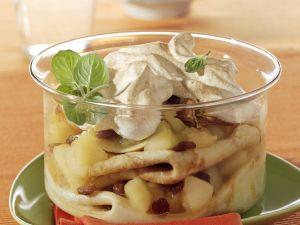 Apfel-Pfannkuchen-Auflauf Rezept
