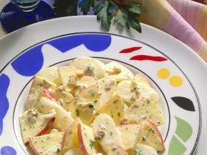 Apfel-Rettichsalat mit Joghurtdressing Rezept