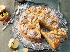 Apfel-Schlupfkuchen Rezept