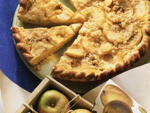 Apfel-Streusel-Pie Rezept