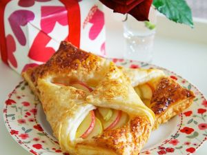 Apfel-Teigtaschen Rezept