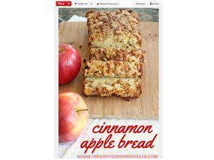 Einfach köstlich: Apfelbrot selber machen