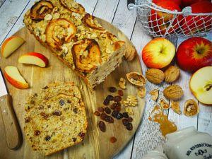 Apfelbrot und Herbstbrot mit Kürbis