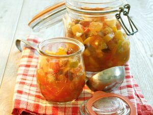 Apfelchutney mit Tomaten Rezept