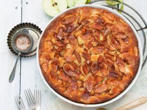 Apfelkuchen mit Mandeln und Zimt Rezept