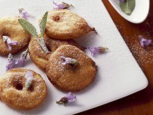 Apfelkücherl mit Salbei Rezept