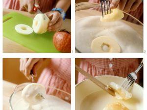 Apfelkücherl mit Zimt Rezept