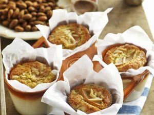 Apfelmuffins mit Mandelstiften Rezept