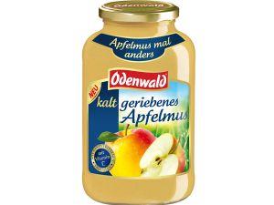 Fruchtig und nicht zu süß: kalt geriebenes Apfelmus