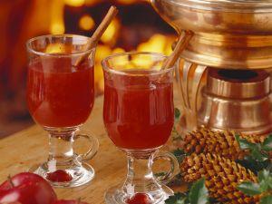 Apfelpunsch mit Zimt Rezept