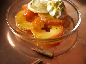 Apfelscheiben in Sirup Rezept