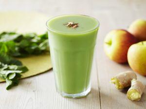 Apfelsmoothie mit Ingwer Rezept