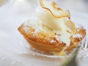 Apfeltorteletts mit Apfelchips Rezept