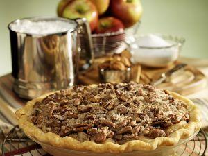 Apple Pie mit Pecannüssen Rezept