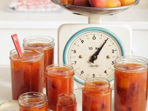Aprikosen-Cranberrykonfitüre Rezept