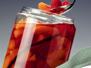 Aprikosen-Himbeer-Kompott Rezept