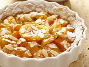 Aprikosentarte mit Mandeln Rezept