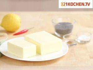 Einfache aromatisierte Buttersauce