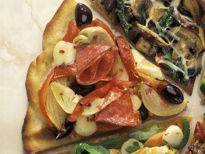 Artischocke-Salami Rezept