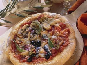 Artischocken-Pizza Rezept