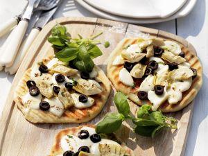 Artischocken-Pizzette Rezept