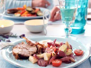 Artischocken-Zwiebel-Salat Rezept