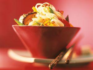 Asia-Nudeln mit Wokgemüse Rezept