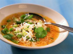 Asiatische Reissuppe Rezept