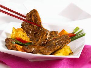 Asiatische Rippchen mit Ananas Rezept