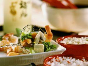 Asiatisches Fischfondue Rezept