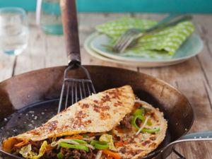 Asiatisches Omelett mit Sesam Rezept