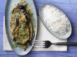 Auberginen-Kokos-Curry Rezept