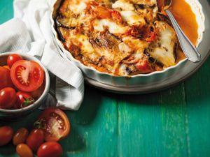 Auberginen-Tomaten-Auflauf mit Mozzarrella Rezept