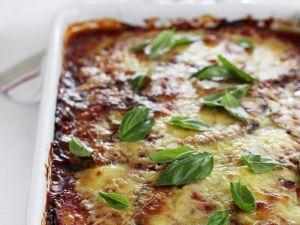 Auberginen-Lasagne Rezept